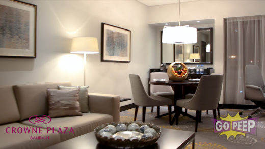 CROWNE PLAZA NEW ROOMS – 45 SECONDS