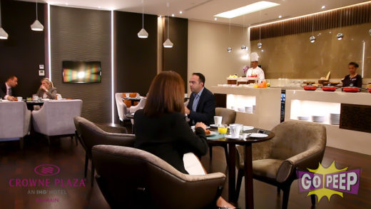 CROWNE PLAZA CLUB LOUNGE – 45 SECONDS