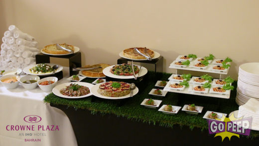 CROWNE PLAZA CATERING – 45 SECONDS
