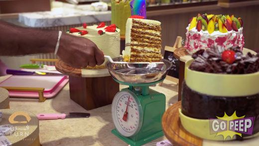 THE WESTIN HOTEL – FURN BISTRO & BAKERY – CAKES BY WEIGHT – 30 SECONDS