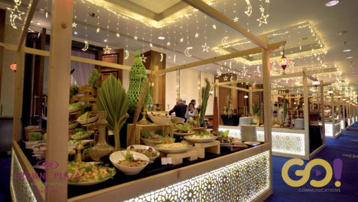CROWNE PLAZA IFTAR – 60 SECONDS