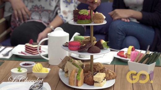 LE CHOCOLAT AFTERNOON TEA – 60 SECONDS